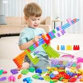 大號子彈頭積木塑料拼插幼兒園兒童玩具