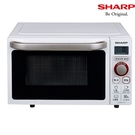 -贈廚房4件組 SP-1605 -SHARP 夏普 20L平台式微電腦微波爐 R-JT20KS-免運費