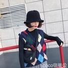 毛線漁夫帽 漁夫帽子女士秋冬盆帽韓國荷葉邊鋼絲針織保暖毛線帽日系百搭禮帽 coco