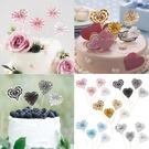 [拉拉百貨]紙扇花 蛋糕插旗 折紙扇花 插牌 插件 烘焙裝飾 蛋糕 蛋糕裝飾 生日裝飾 場地佈置 派對