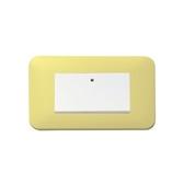 馬卡龍系列一開關蓋板組-檸檬黃