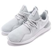 Nike 慢跑鞋 Wmns Tessen 白 灰 基本款 舒適緩震 流線型設計 針織鞋面 運動鞋 女鞋【PUMP306】 AA2172-002