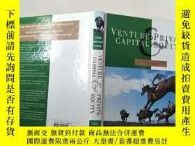 二手書博民逛書店venture罕見private capital equity