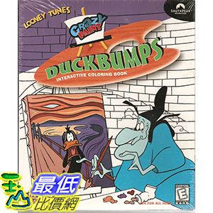 [106美國暢銷兒童軟體] Crazy Paint Duckbumps Interactive Coloring Book