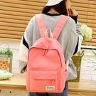 (交換禮物 創意)聖誕-帆布雙肩包女包日韓版潮學院風高中學生書包