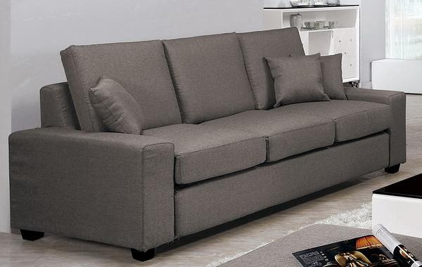 【森可家居】布萊恩沙發三人椅 8CM699-4 三人座位 布沙發 可拆洗