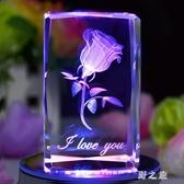 旋轉水晶球音樂八音盒創意生日禮物送女朋友閨蜜diy手工禮品LZ2117【野之旅】