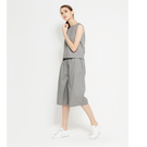 Stella推薦-SISJEANS-灰色寬鬆休閒無袖連身褲【1719200603】