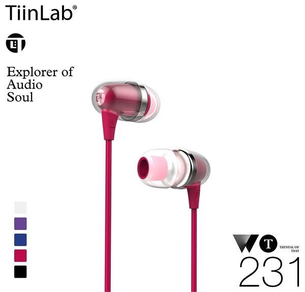 【5折專區】 TiinLab Whisper of TFAT WT 耳語系列 - WT231 耳塞式耳機 粉