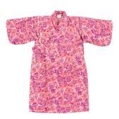 【愛的世界】純棉玫瑰印花鋪棉日式和服-中國製- ★幼服推薦