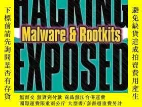 二手書博民逛書店Hacking罕見Exposed Malware And RootkitsY256260 Michael Da