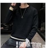 熱銷毛衣2020秋冬季新款男士毛衣加厚圓領套頭線衫長袖男裝針織打底衫