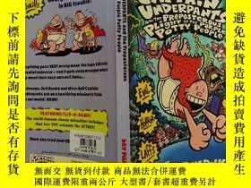 二手書博民逛書店Captain罕見Underpants and the Preposterous Plight of the Pu