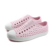 native JEFFERSON 休閒鞋 洞洞鞋 粉紅色 男女鞋 11100100-6801 no880