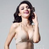 法式掛脖性感美背超薄無海綿歐美女無鋼圈薄款三角杯文胸 歐韓流行館