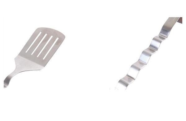 丹大戶外【UNIFLAME】波浪不鏽鋼鍋鏟 U662199