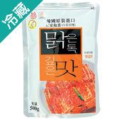 正安泡菜白菜切塊500g【愛買冷藏】