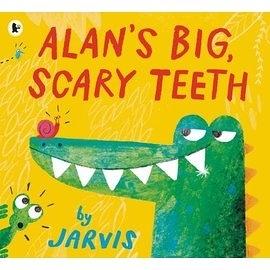 【主題: 趣味幽默】ALANS BIG SCARY TEETH《中譯:鱷魚艾倫又大又可怕的牙齒》班級閱讀書單-高年級