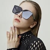 太陽眼鏡 古古美美墨鏡女GM太陽鏡男潮ins防紫外線大臉網紅開車2021年新款 夢藝家