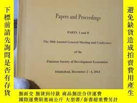 二手書博民逛書店The罕見Pakistan Development Review