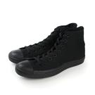 CONVERSE CTAS All Star 帆布 舒適 高筒 基本款 戶外休閒鞋 純色 全黑 黑色 男女鞋 M3310C no006