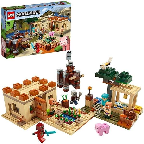LEGO 樂高 我的世界 伊莉傑之襲 21160