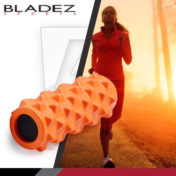 【BLADEZ】深層狼牙棒按摩滾筒-短版-橘色