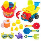 兒童沙灘玩具 沙灘玩具套裝 男女孩玩水決明子玩沙子工具玩具套裝 全館85折
