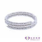 【光彩珠寶】日本18K金磁鐵手環/戒指兩...
