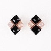 鍍18K金耳環-精緻閃鑽高雅復古女耳飾73ns37【時尚巴黎】