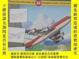 二手書博民逛書店平裝罕見Learn to Draw Planes, Choppe