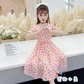 女童連身裙夏裝大童洋裝公主裙子【奇趣小屋】