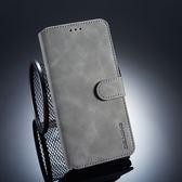 華為 Mate 20 復古皮套 翻蓋手機殼 磁扣錢包款皮套 插卡防摔保護套 支架保護殼 附掛繩 Mate20