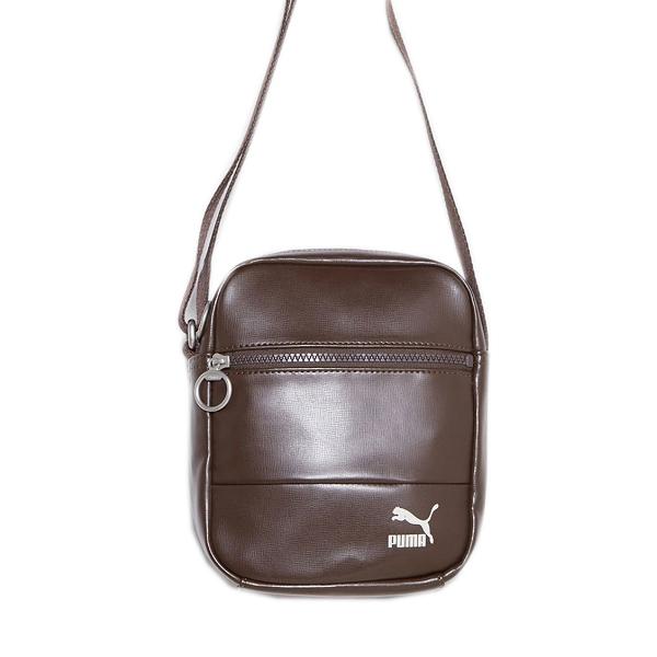 Puma Original Shoulder Bag [07480602] 肩背 斜背 側背包 運動 休閒 咖啡