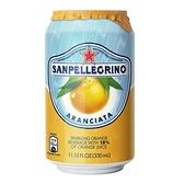 義大利 S.Pellegrino 聖沛黎洛氣泡水果水 甜橙口味 330ml