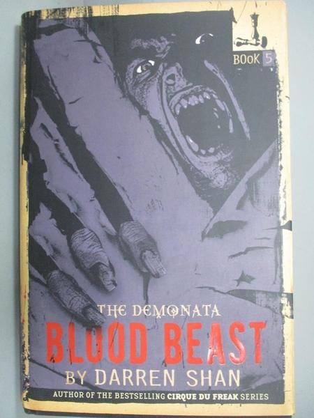 【書寶二手書T8/少年童書_LQI】Blood Beast_Shan, Darren