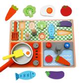 歡樂下廚木製平面廚房 玩具 家家酒玩具