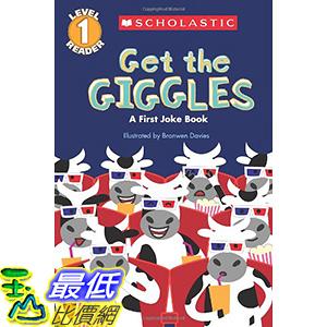 [106美國直購] 2017美國暢銷兒童書 Scholastic Reader Level 1: Get the Giggles: A First Joke Book Paperback
