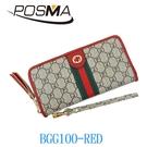 POSMA 時尚韓風 錢包 零錢包 BGG100-RED