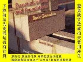 二手書博民逛書店Essentials罕見Of Soil Mechanics And FoundationsY364682 Mc