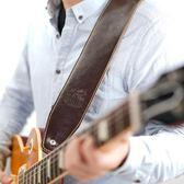 吉他背帶皮質民謠貝斯電吉他背帶木吉他背帶肩帶通用 潮流前線