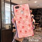 草莓oppor15手機殼女款oppoR17保護套硬殼oppor11/r11splus軟殼-享家生活館