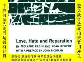 二手書博民逛書店Love,罕見Hate And ReparationY255562 Melanie Klein W. W. N