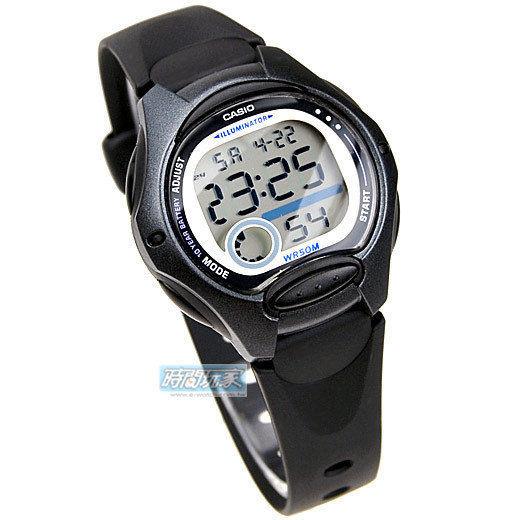 LW-200-1B 電子錶 女錶 LW-200 兒童錶 10年電池 球面玻璃 數字電子錶 50米的防水 防水手錶 CASIO卡西歐