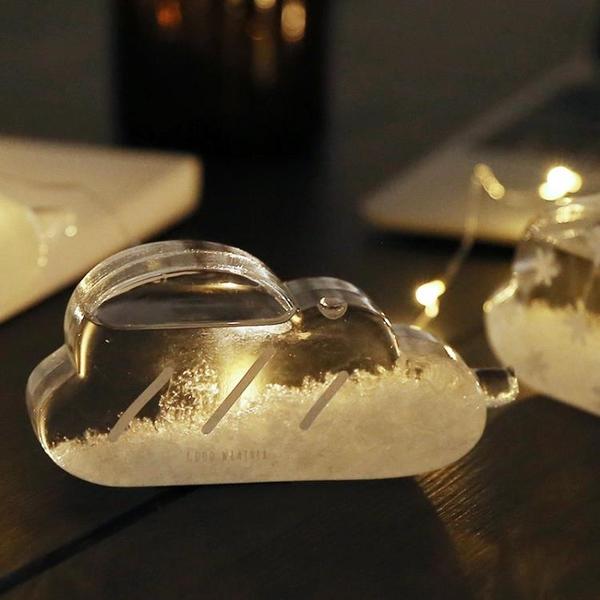 風暴瓶天氣瓶風暴瓶抖音同款創意實用少女心爆棚的七夕禮物【快速出貨】