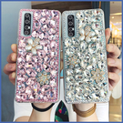 三星 A51 M11 A31 A50 S20+ A71 Note9 A21S A70 Note10+ A9 A7 J6+ A20 寶石珍珠花 手機殼 水鑽殼 訂製