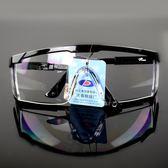防護眼鏡擋風鏡打磨防飛濺工業灰塵粉塵勞保工作透明護目鏡薔薇