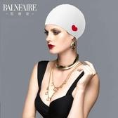 新款成人泳帽女護耳防水硅膠泳帽長短發大號溫泉游泳帽【免運】