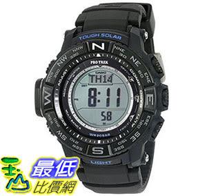 [美國直購] 手錶 Casio Men s PRW3510Y-1 Triple Sensor Digital Quartz Resin Black Silicone Automatic Watch