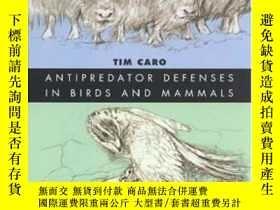 二手書博民逛書店Antipredator罕見Defenses In Birds And Mammals (interspecifi